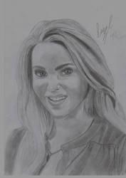 AnnaSophia Robb Sketch by leeman1337