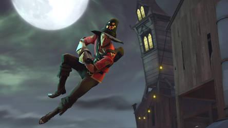 The Halloween Scout by leeman1337