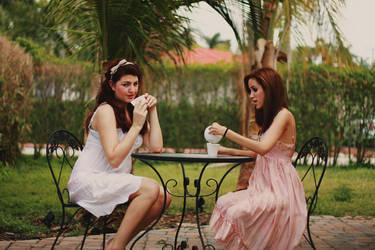 tea party. by deeanabb