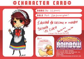 Rainbow - Card by ChioWantsToFly