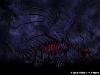 COM : Demon Dragon Akasha by whiteguardian