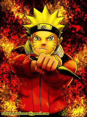 Naruto Uzumaki by whiteguardian