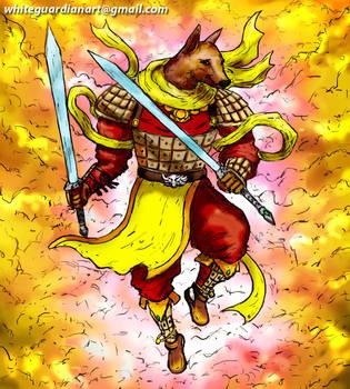 Howling Celestial Dog (Xiaotian Quan) by whiteguardian