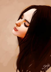 Friend Portrait by Jujika