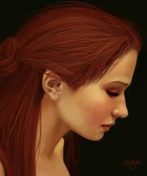 Self Portrait by Jujika