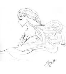 Rahbitt Sketch by Jujika