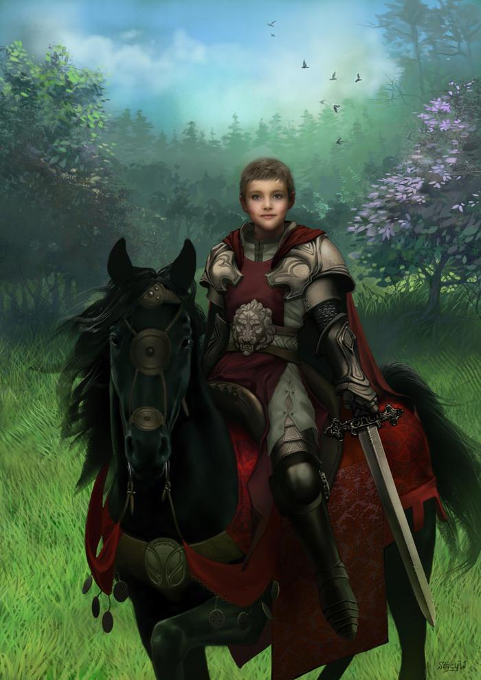 Little Warrior by Jujika