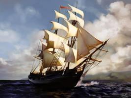 Ship by Jujika
