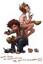 The Shoe Maker by Jujika