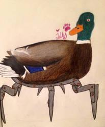 Robo duck by tamaska8