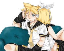 Vocaloids: Rin and Len by Kawaii-Lisa-chan