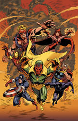 Avengers Classic - color by RonMaras