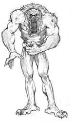 Bog Beast by RonMaras