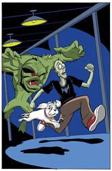 Kid Zombie Adventures by RonMaras