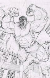 Hulk by RonMaras