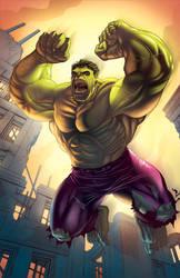 Hulk Smash by RonMaras