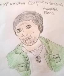 captain Benjamin (hawkeye) Franklin pierce  by jblackheart