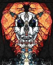 skull flower 2 by jblackheart