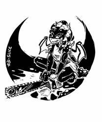 Inktober2018 - #31 - Slice by EMP-83