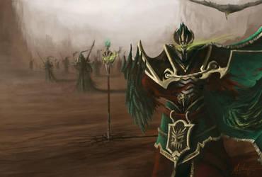 League of Legends: Tyrant Swain by JMSUTTONII
