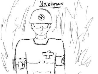 Naziman Sketch by GamesFuhrer