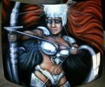 Warrior Goddess by ShyloLove