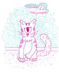 Inktober Day 22 - Kittyclops by WendyW