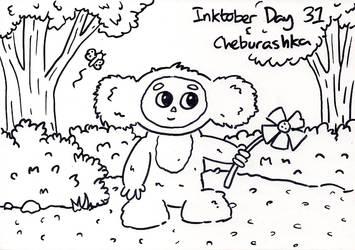 Inktober Day 31 - Cheburashka by WendyW