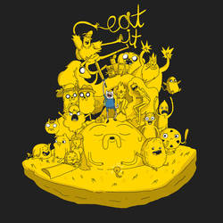 EAT IT! ADVENTURE TIME! by RobCham