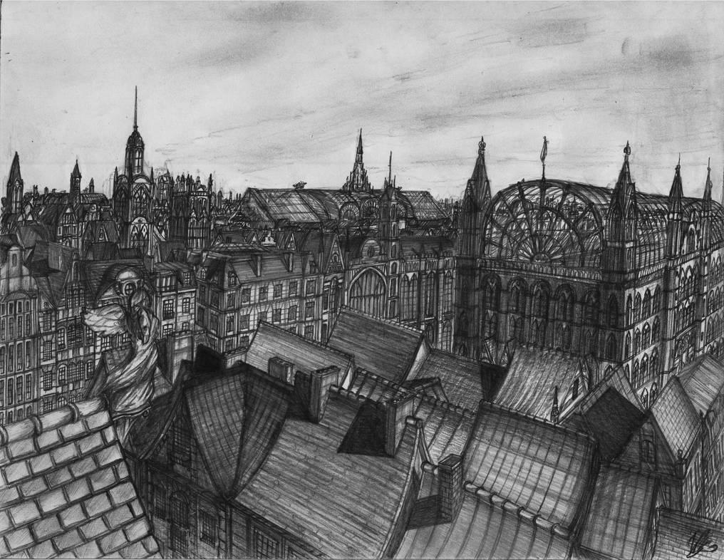 Sedna Cityscape #1 by Windvern