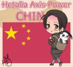 Hetalia Axis Power China by leadervance