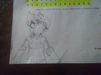 My Hero Academia Izuku Midoriya Drawing by MAGEBAD