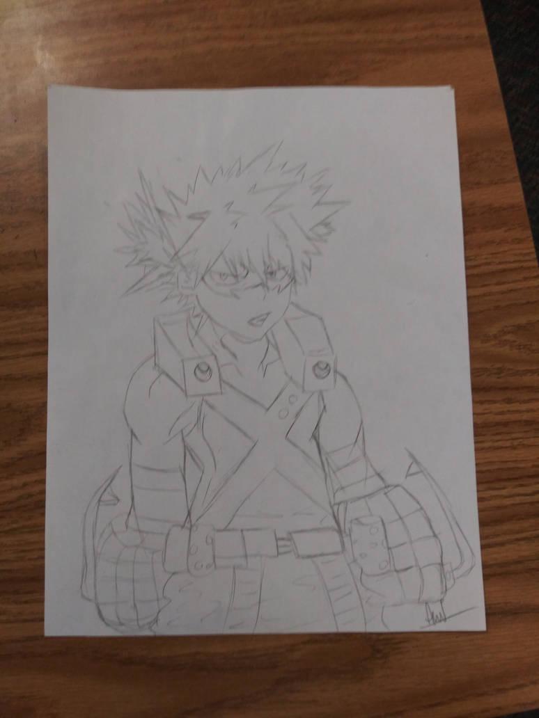 My Hero Academia Katsuki Bakugou Drawing by MAGEBAD
