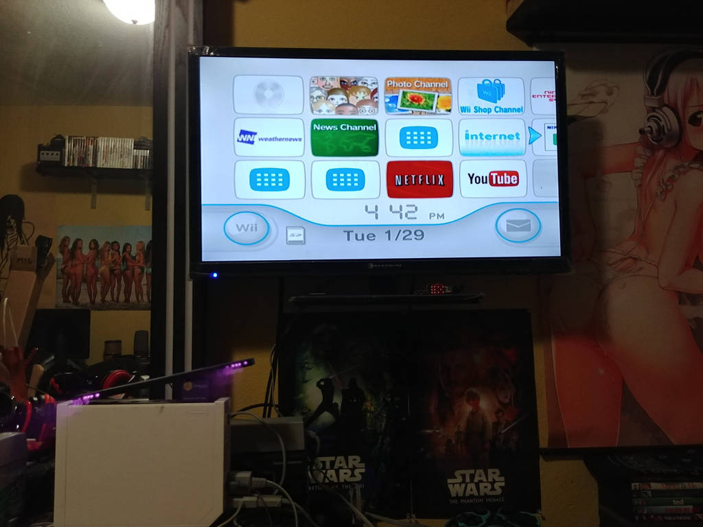 Nintendo Wii November 19, 2006-January 30, 2019 by MAGEBAD