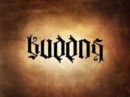 Kuddos ambigram by kuddos