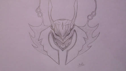 Mega-Rayquaza Sketch by Thurpok