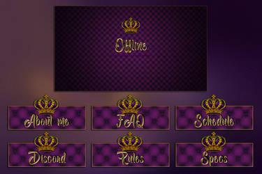 Royal Panels by xEleonara