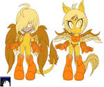 Commission-Redesign Kakyuuspark 3 by DL-95