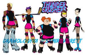Thunder Crushers by sketchmasterskillz
