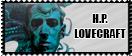Hp Lovecraft stamp by thegentlemanowl