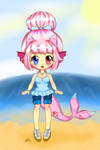 Pinky's new summer outfit by PunkBune