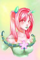 Spring portrait by Pikirha