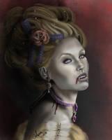 Gabrielle de Lioncourt_ The Vampire Chronicles by annaluci