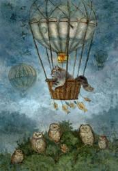 Balloon flight by ArtGalla
