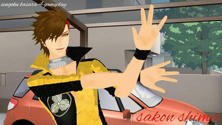 sakon shima gameplay by horinohornito