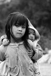 Children in Laos by PtiteCocci