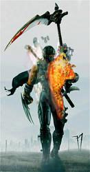 battlefield 3 ninja by ninjanoto