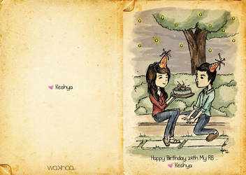 Happy Birthday RB by wakhaa