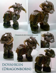 Dovahkiin Dragonborn Ooak Custom by daunted