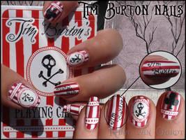Tim Burton nails by Ninails